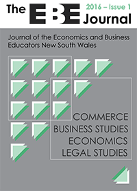 EBE Journal Issue 1 2016